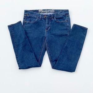 Made well Medium Wash Skinny Blue Denim Jeans 28
